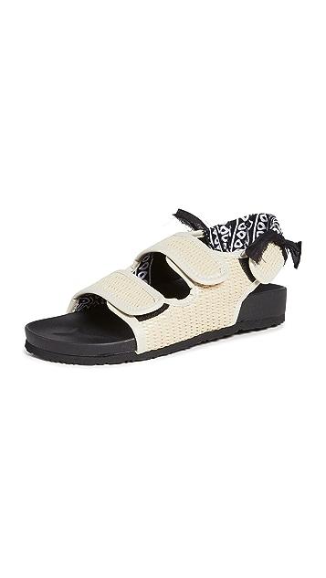 Arizona Love Bandana 草编凉鞋
