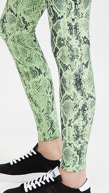 Alo Yoga High Waist Snake Leggings
