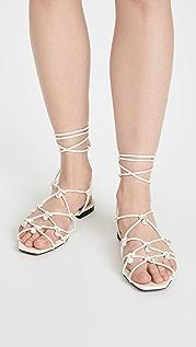 Altuzarra Lace Up Sandals