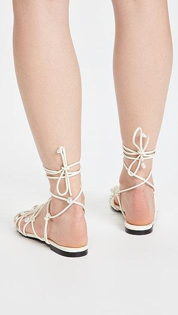 Altuzarra 系带凉鞋