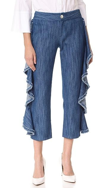 Alexis Nikko Ruffle Jeans