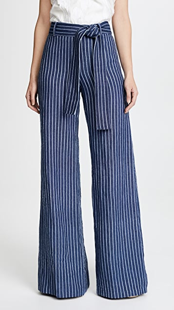 Alexis Cade Pants - Denim Stripes
