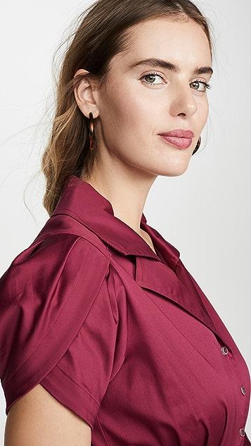 Alexis 玫瑰花形连衣裙