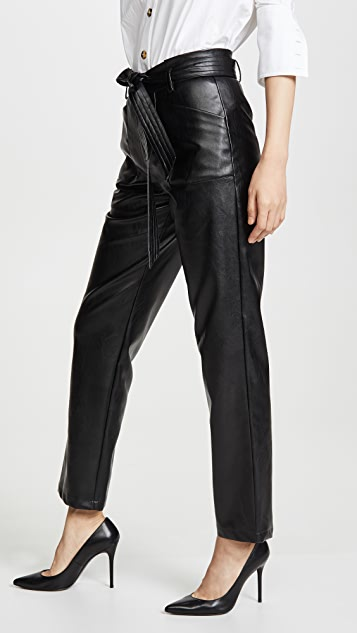 Alexis Castile Faux Leather Pants