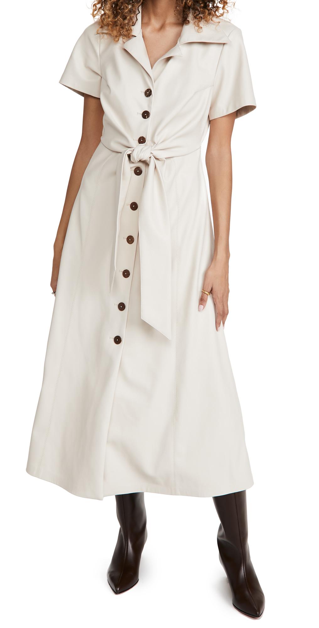 Alexis Jeanie Faux Leather Dress