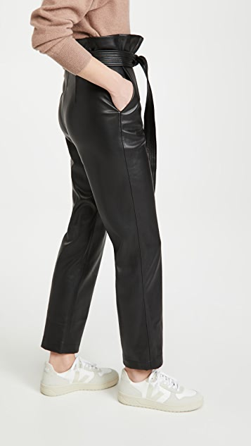 Alexis Kayden Faux Leather Pants