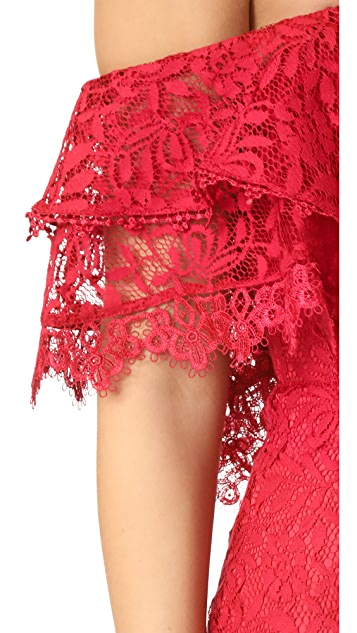 Alice McCall Little Red Corvette Romper