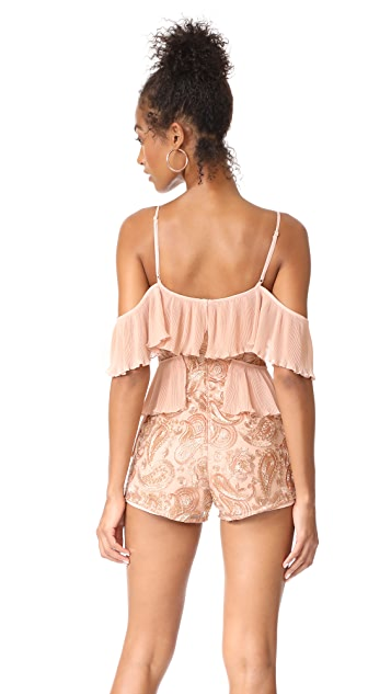 Alice McCall Let's Get Loud Romper