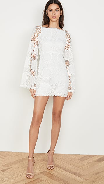 Alice McCall Diamond Veins Mini Dress