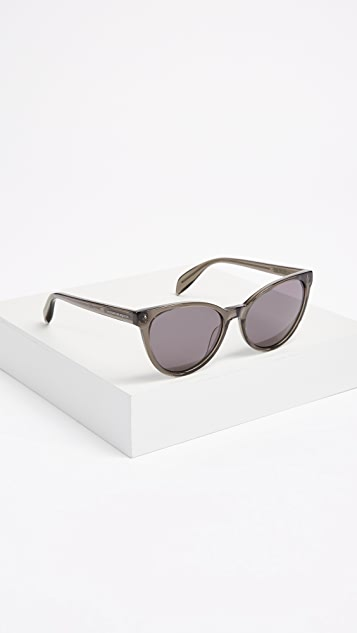 Alexander McQueen Cat Eye Sunglasses