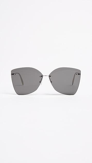 Alexander McQueen Butterfly Sunglasses