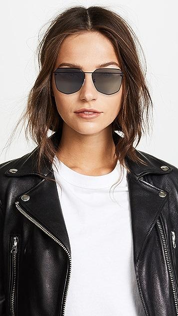 Alexander McQueen Piercing Hexagon Sunglasses