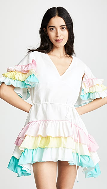 A Mere Co Alice Ruffle Dress
