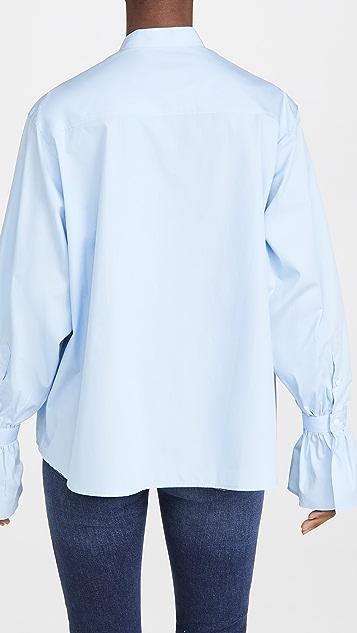 AMI 飞袖衬衫