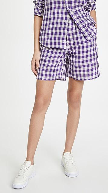 AMI 弹性腰部短裤
