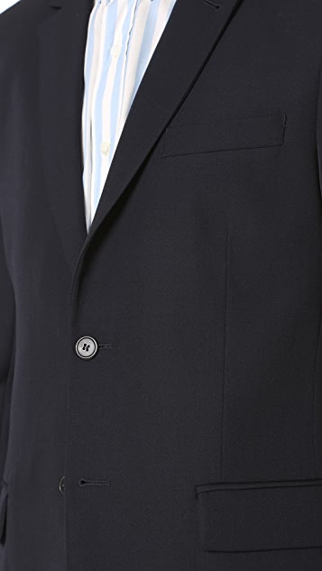 AMI 2 Button Suit Jacket