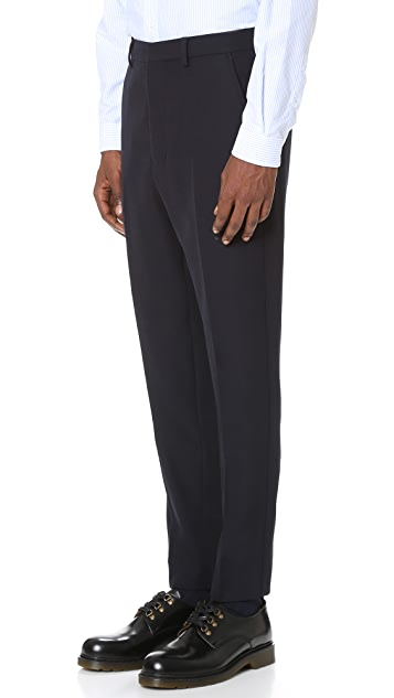 AMI Carrot Fit Suit Trousers