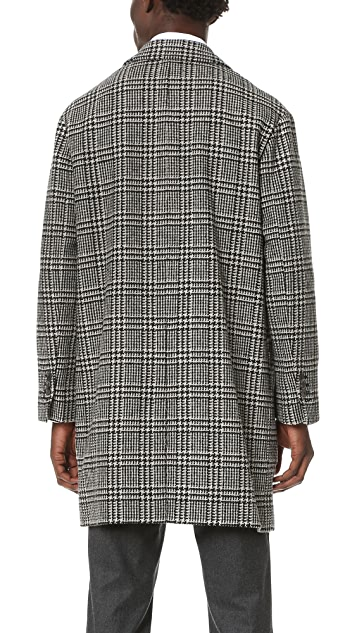 AMI Oversized 2 Button Coat
