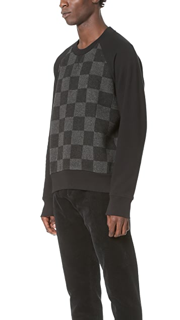 AMI Oversized Crew Neck Sweatshirt