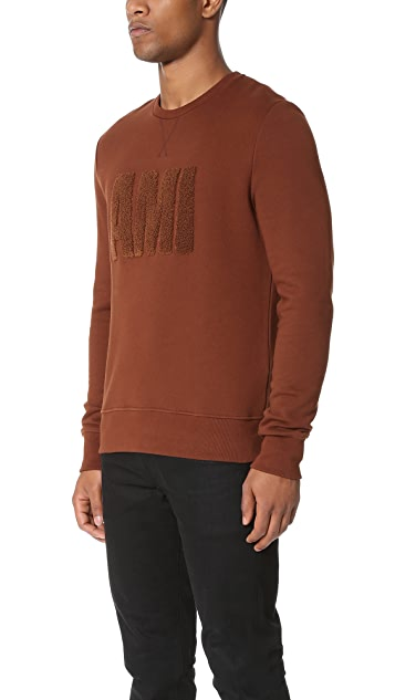 AMI AMI Crew Neck Sweatshirt