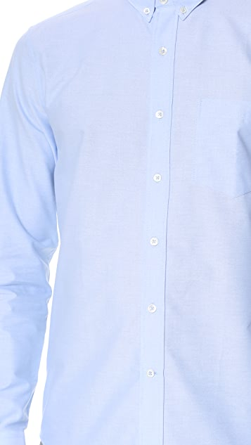 AMI Button Down Oxford Shirt