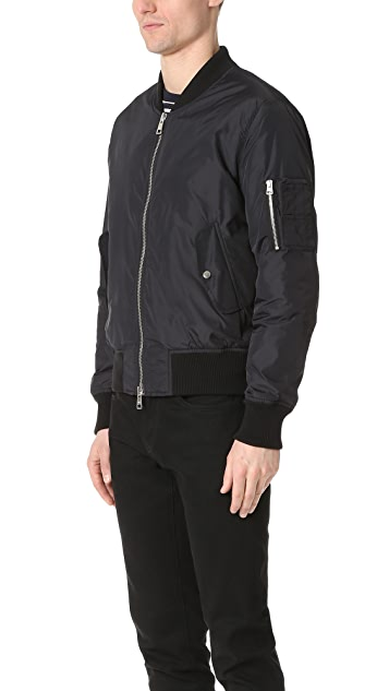 AMI Zipped Teddy Bomber