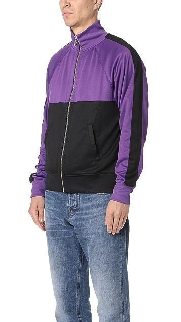 AMI Zip Up Sweatshirt