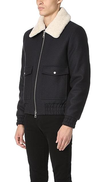 AMI Plated Pocket Jacket