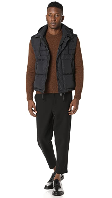 AMI Quilted Vest
