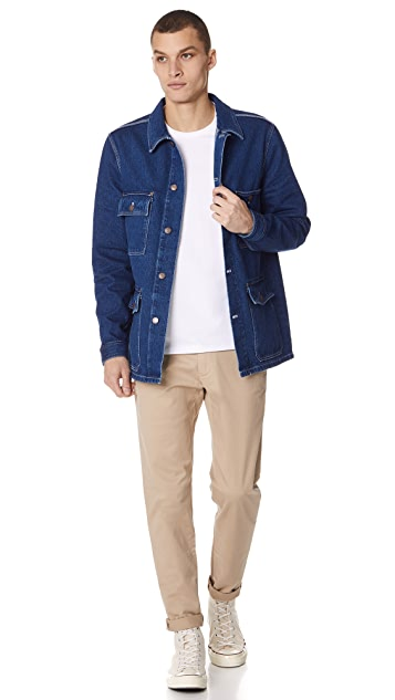 AMI Denim Worker Jacket