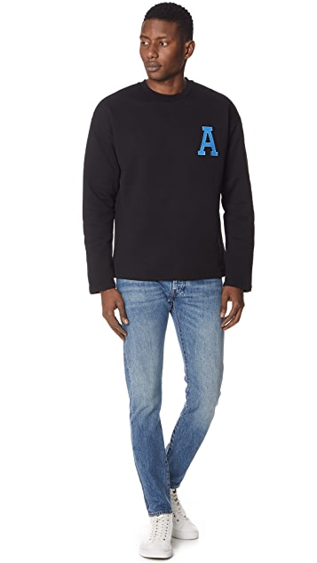 AMI A Patch Sweatshirt