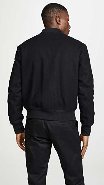 AMI Zipper Bomber Jacket