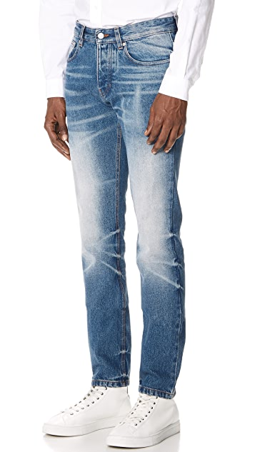 AMI Faded Jeans