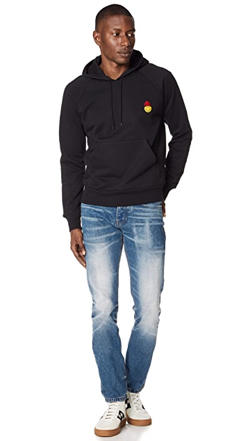 AMI Smiley Hoodie Sweatshirt
