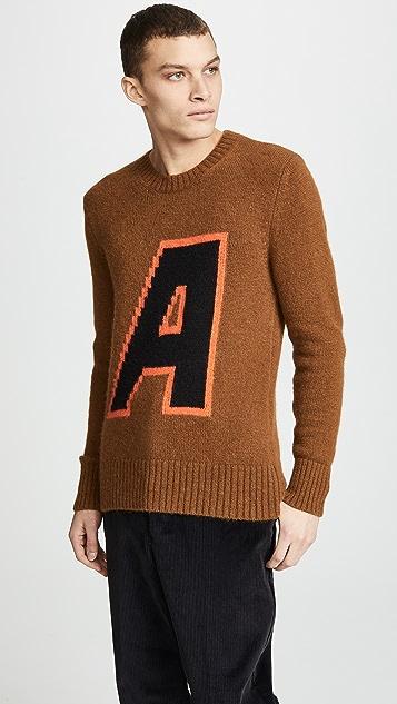 AMI Crew Neck Sweatshirt