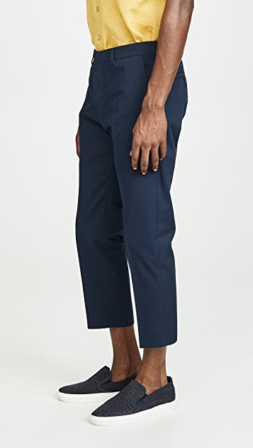 AMI Pantalon Cropped Pants