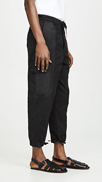 AMI Patchwork Trousers