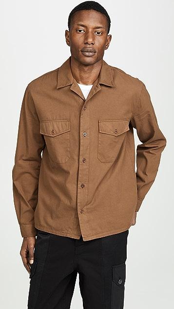AMI Shark Collar Overshirt