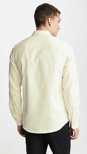 AMI Big Heart Patch Button Down Shirt
