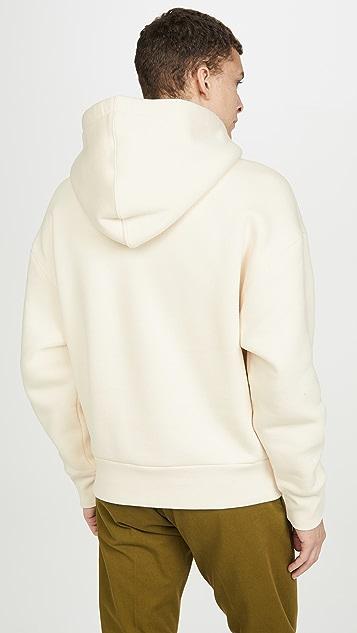 AMI Big Heart Patch Pullover Sweatshirt