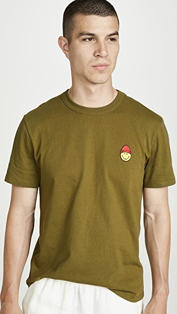 AMI Smiley Patch Tee