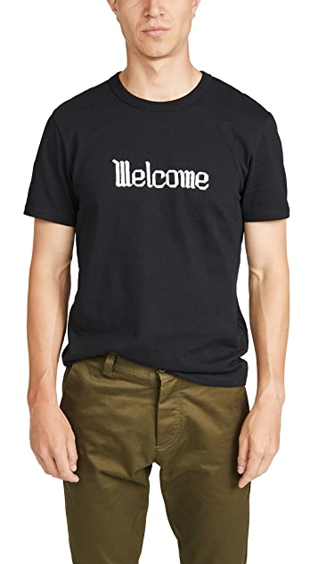 AMI Welcome Short Sleeve Tee