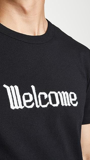 AMI Welcome Short Sleeve Tee