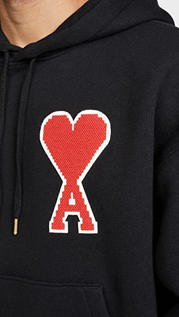 AMI AMI Big Patch Pullover Hoodie