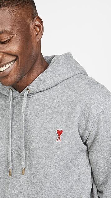 AMI AMI Logo Pullover Hoodie