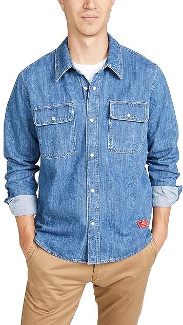 AMI Denim Button Down Shirt