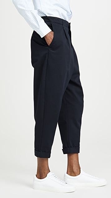 AMI Oversized Carrot Trousers
