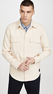 AMI Twill Double Pocket Shirt Jacket