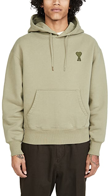 AMI AMI Big Heart Patch Pullover Hoodie