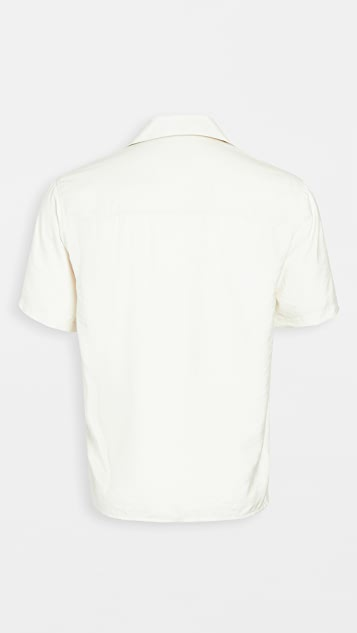 AMI Ami Heart Camp Collar Shirt